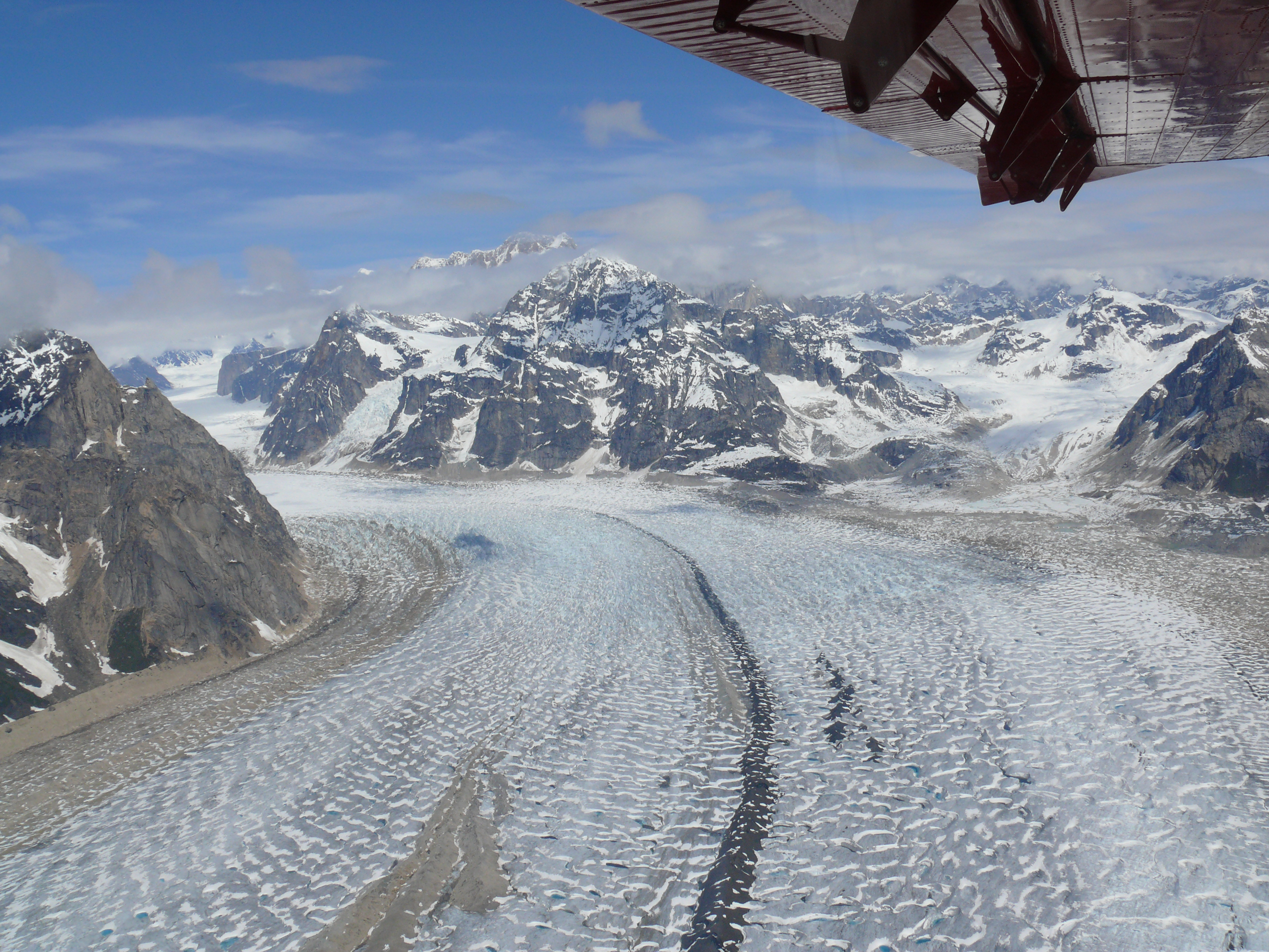 Looking at the Heart of a Glacier