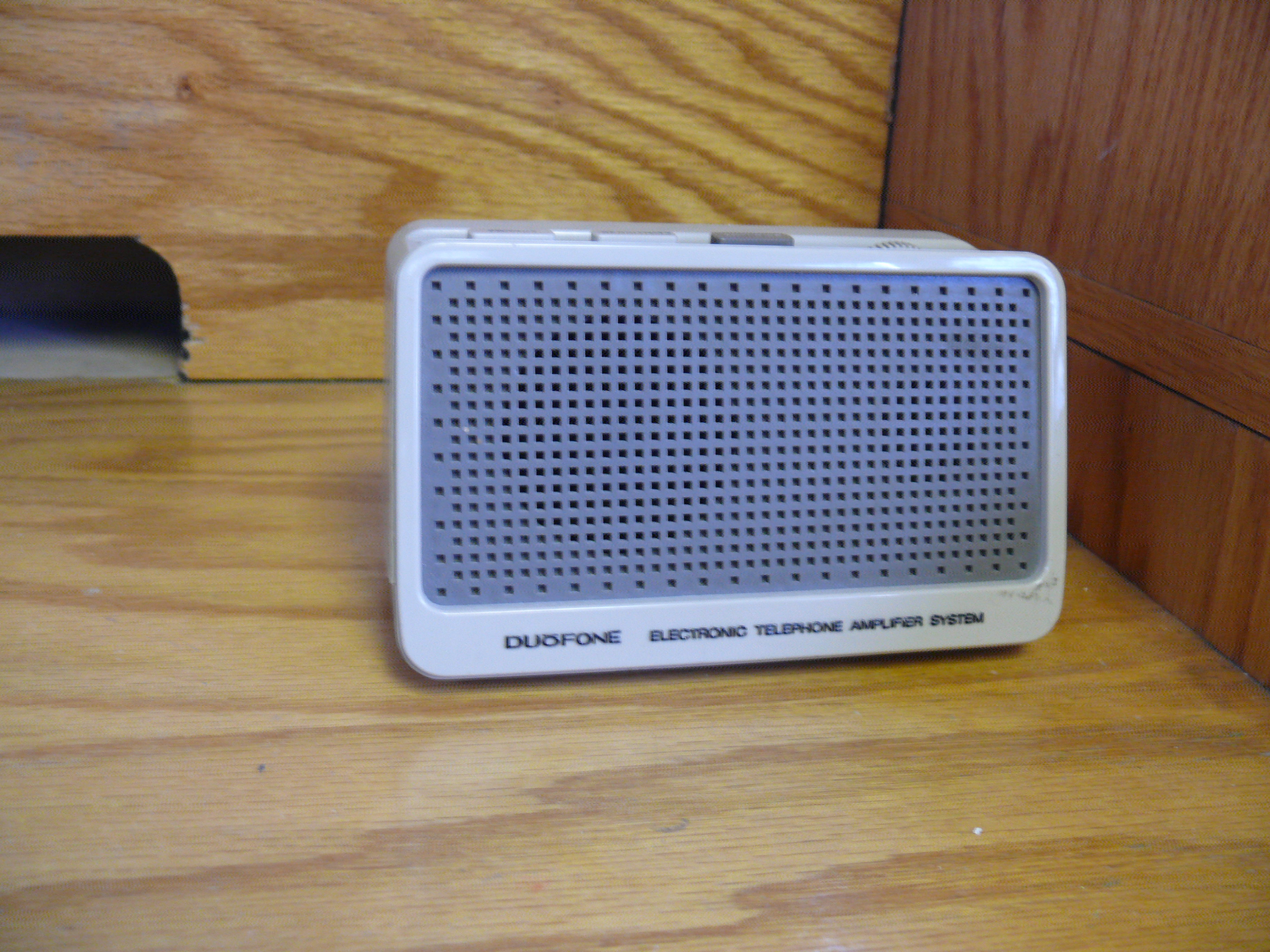 DuoFone Electronic Telephone Amplifier System