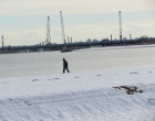 The Bronx Riviera - in Winter (Orchard Beach) [PHOTOS]