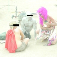 Critical Tits Bike Ride - A Look Back at Burning Man