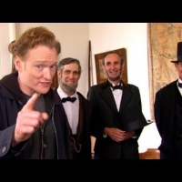 Conan Visits Abraham Lincoln Presidential Museum
