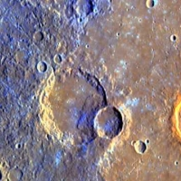 Mercury:  Flying Over the First Planet