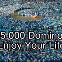 World Record Dominoes [VIDEO]
