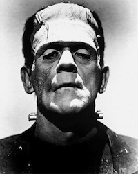 Boris Karloff as the Monster