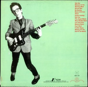 Elvis Costello - back jacket