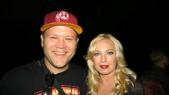 having a few laughs with Traci Lords