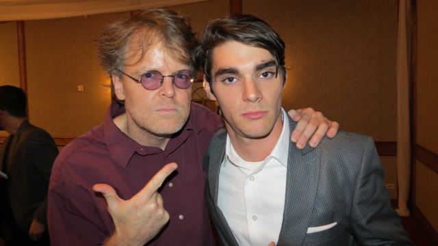 DanO and RJ Mitte from TV's Breaking Bad