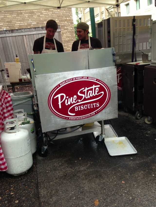 pine state at the farmer's market