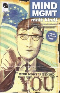 Mind MGMT Cover