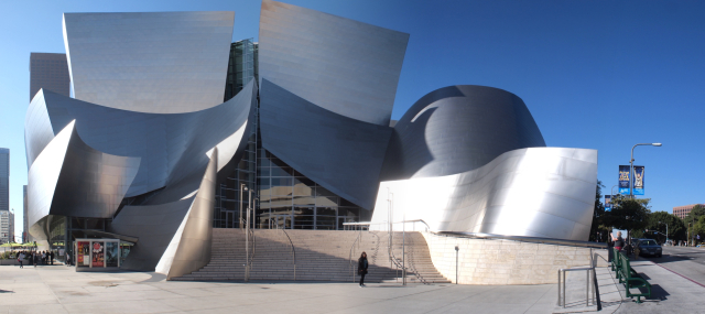 Walt Disney Concert Hall in Los Angeles designed by Frank Gehry
