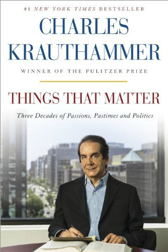 krauthammer things that matter cover