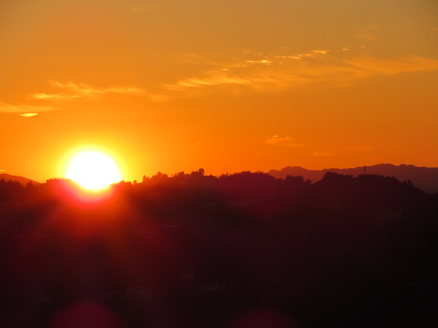 Post image for The Sun Begins to Set on LA