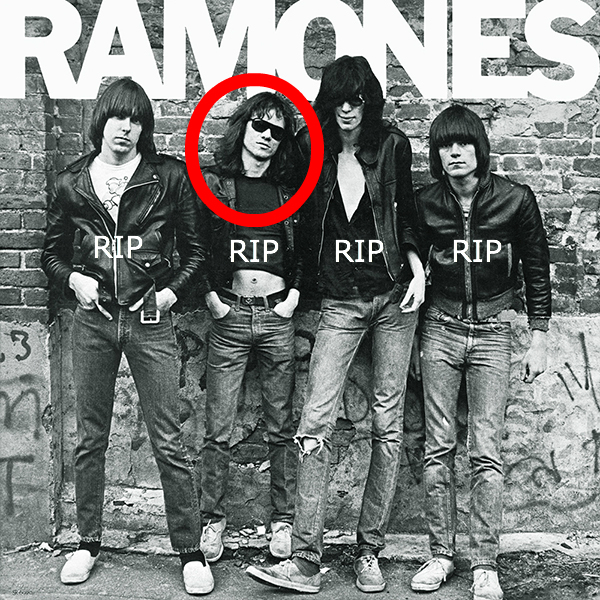 Post image for 20 Best Ramones Songs – Tommy Ramone RIP