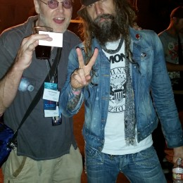 Dan and Rob Zombie