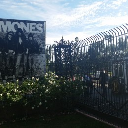 Hollywood Forever Front Gate - 10th Annual Johnny Ramone Tribute