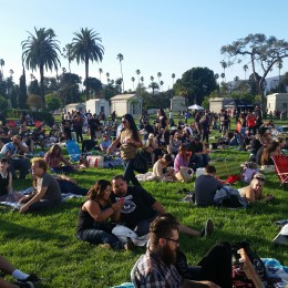 The Great Lawn at Hollywood Forever