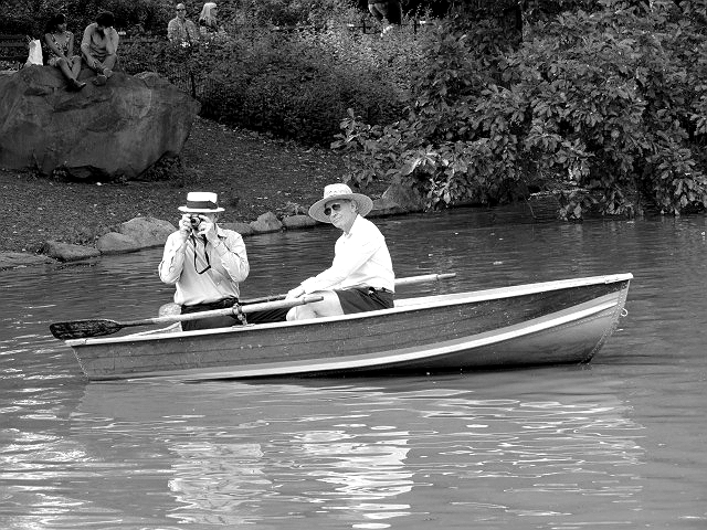 boater photo central park