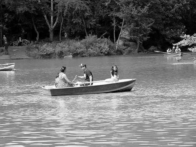 family boaters