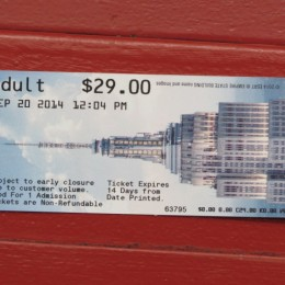 Tickets to the 86 Floor observatory, which is outside is probably all you'll need. A bargain at $29.