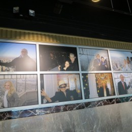 And of course the Empire State Building Wall of Fame,  including Yoko Ono.