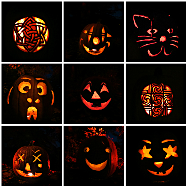 halloween squares...of evil