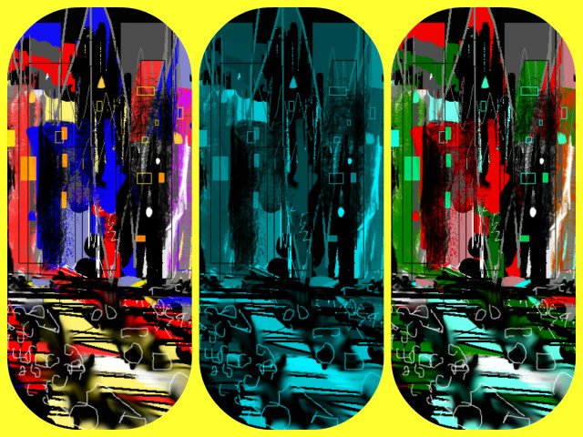 Hallucination Pil - City Experience 18463 - 2 - yellow