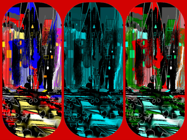 Hallucination Pil - City Experience 18463 - 3 - red