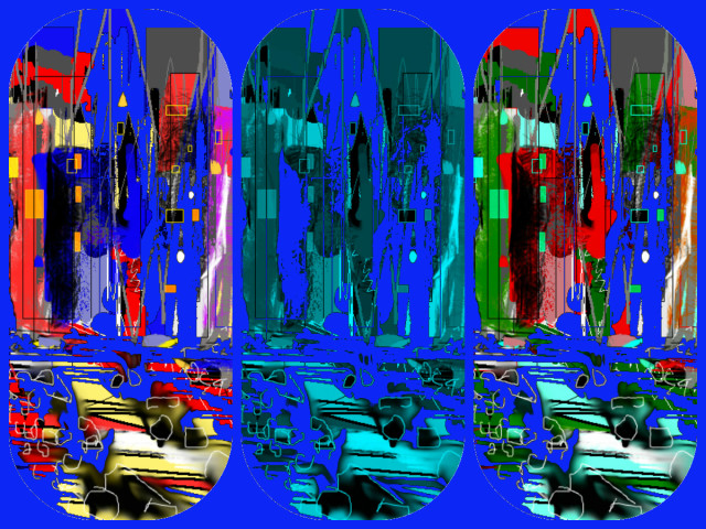 Hallucination Pil - City Experience 18463 - 5 - blue