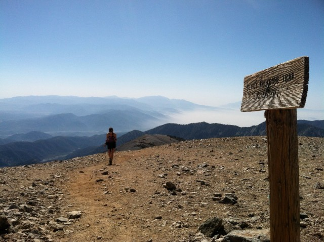 hiking mount baldy california