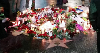 Bowie Hollywood Star