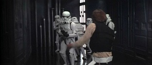 han and storm troopers